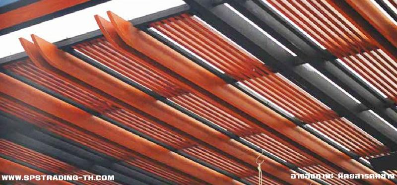 จำหน่ายระแนงไม้ อลูมิเนียมลายไม้ Aluminium wood