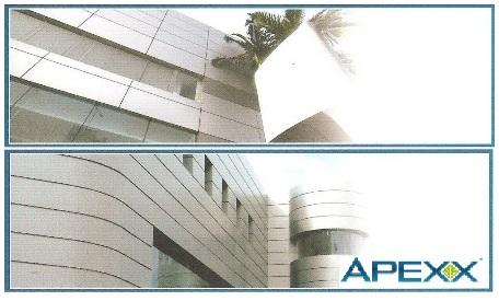 """ผลิตภัณฑ์แผ่นอลูมิเนียมคอมโพสิต """"เอเปกส์"""" APEXX"""